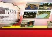 Grand boulevard loteamento em condomínio 100 fechado com segurança 24 hs