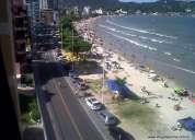 Apartamento lindo frente ao mar 4 suites itapema