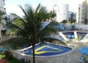 Apartamento mobiliado, ar condicionado, c/6 piscina, confortável, r$ 70,00