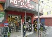 Loja de moto peças e oficina