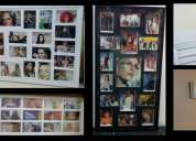 Porta retratos paredes mesas quadros de fotos art reflexus sp