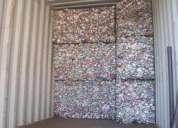 Sucata de lata de alumínio
