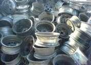 Sucata de roda de alumínio automotivo