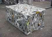 Retalhos de alumínio sucata