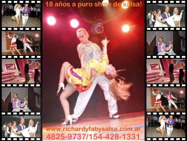 Seminarios de Salsa estilo Los Angeles, Richard y Faby , Argentina